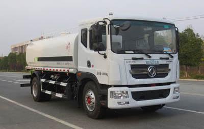 国六东风12吨洒水车