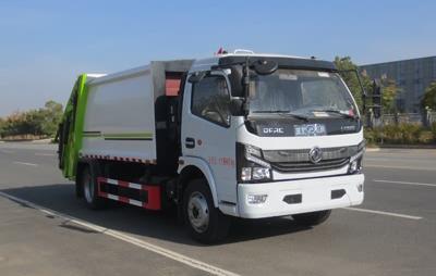 国六东风8吨压缩式垃圾车