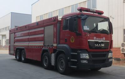20吨曼压缩空气泡沫消防车