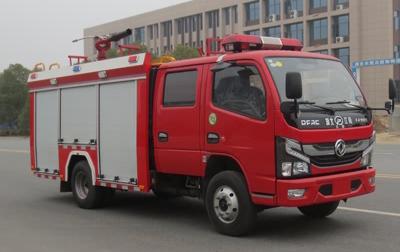 国六东风2-3吨泡沫消防车