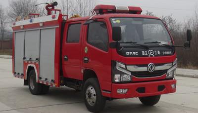 国六东风2-3吨水罐消防车