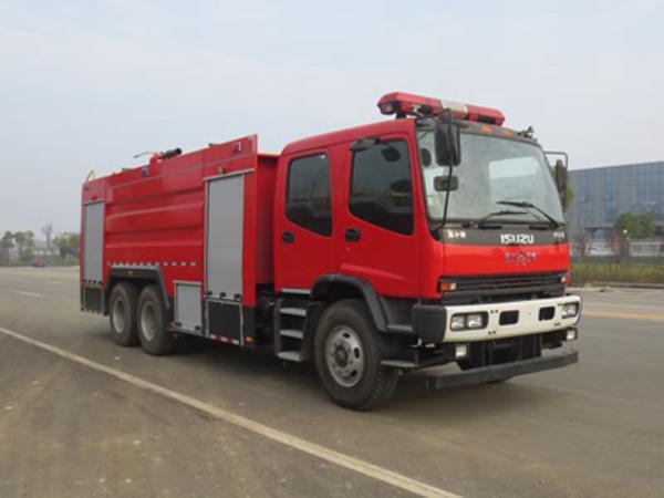 庆铃11吨泡沫消防车