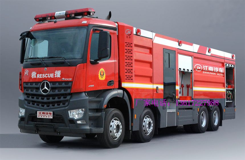 奔驰18.4吨水罐消防车