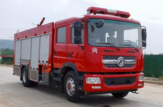 国六东风7吨泡沫消防车