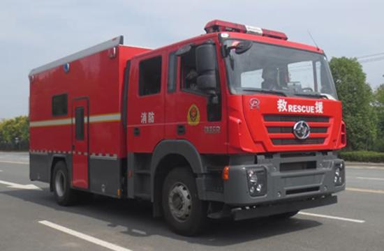 红岩器材消防车