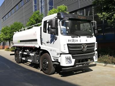 国六东风12-14吨洒水车