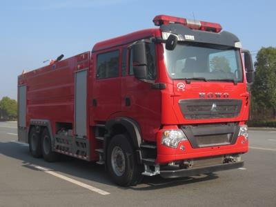国六16吨泡沫消防车