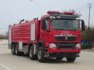国六24吨泡沫消防车